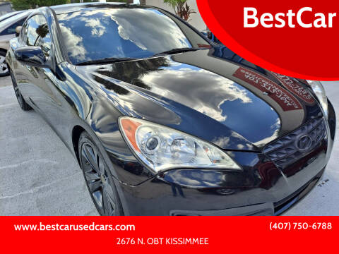 2011 Hyundai Genesis Coupe for sale at BestCar in Kissimmee FL