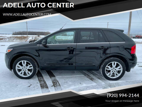 2013 Ford Edge for sale at ADELL AUTO CENTER in Waldo WI