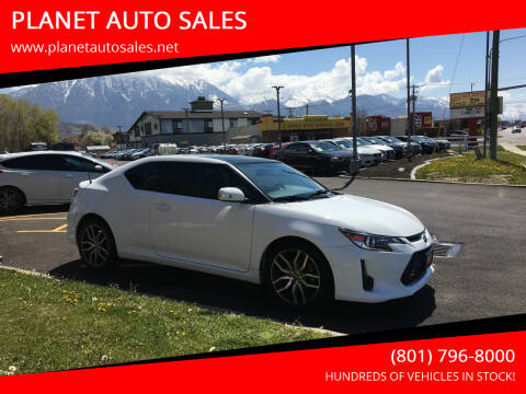 2014 Scion tC for sale at PLANET AUTO SALES in Lindon UT