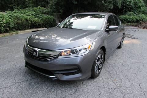 2016 Honda Accord for sale at AUTO FOCUS in Greensboro NC