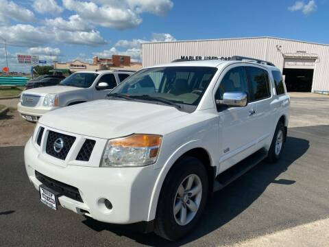2008 Nissan Armada for sale at MARLER USED CARS in Gainesville TX
