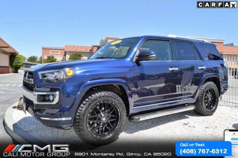 2017 Toyota 4Runner for sale at Cali Motor Group in Gilroy CA
