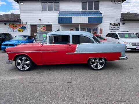 1955 Chevrolet Bel Air for sale at Twin City Motors in Grand Forks ND