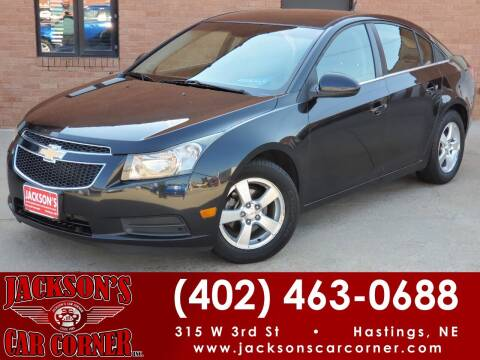 2011 Chevrolet Cruze for sale at Jacksons Car Corner Inc in Hastings NE
