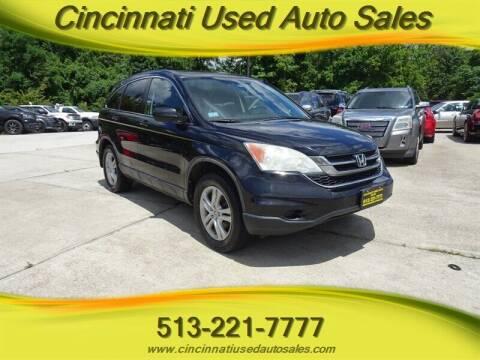 2010 Honda CR-V for sale at Cincinnati Used Auto Sales in Cincinnati OH