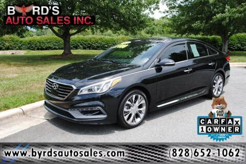 2015 Hyundai Sonata for sale at Byrds Auto Sales in Marion NC