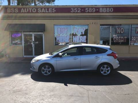 2014 Ford Focus for sale at BSS AUTO SALES INC in Eustis FL