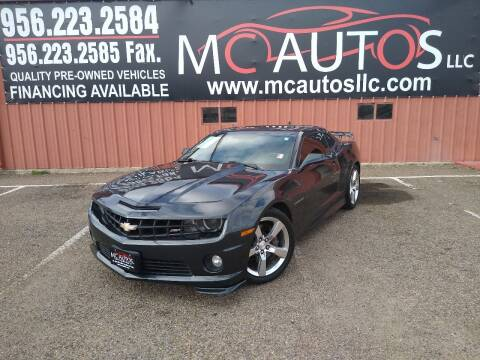 2013 Chevrolet Camaro for sale at MC Autos LLC in Pharr TX