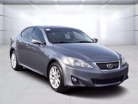 2012 Lexus IS 250 for sale at BOB ROHRMAN FORT WAYNE TOYOTA in Fort Wayne IN