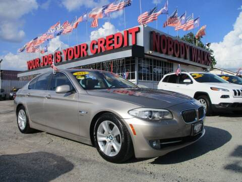 2012 BMW 5 Series for sale at Giant Auto Mart 2 in Houston TX