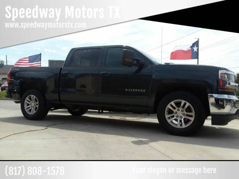 2017 Chevrolet Silverado 1500 for sale at Speedway Motors TX in Fort Worth TX