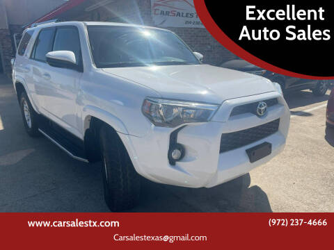 2014 Toyota 4Runner for sale at Excellent Auto Sales in Grand Prairie TX