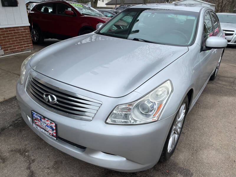 2008 Infiniti G35 for sale at New Wheels in Glendale Heights IL