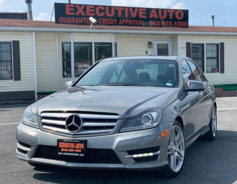 2012 Mercedes-Benz C-Class for sale at Executive Auto in Winchester VA