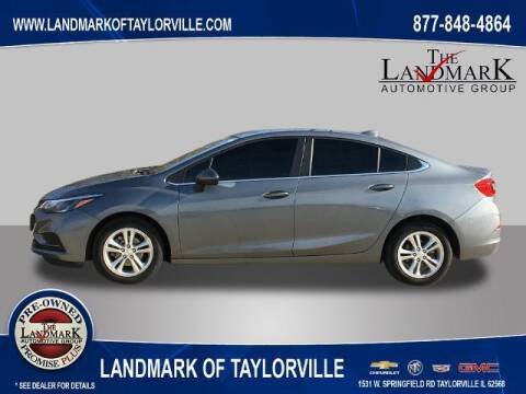 2018 Chevrolet Cruze for sale at LANDMARK OF TAYLORVILLE in Taylorville IL