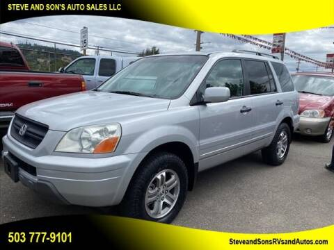 2004 Honda Pilot for sale at Steve & Sons Auto Sales in Happy Valley OR