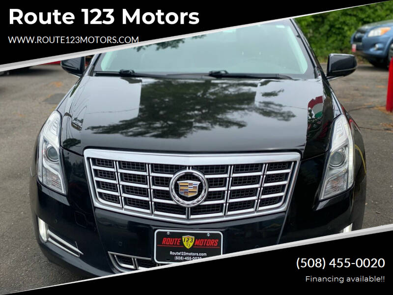 2013 Cadillac XTS for sale at Route 123 Motors in Norton MA