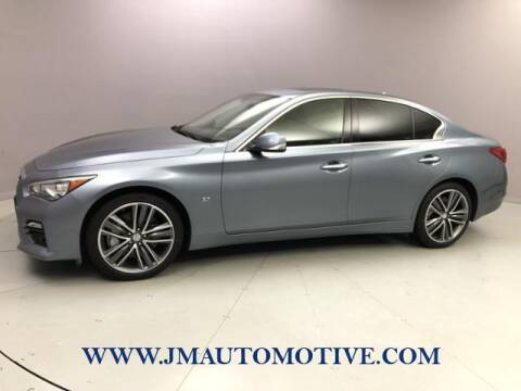 2015 Infiniti Q50 for sale at J & M Automotive in Naugatuck CT