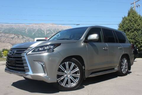 2016 Lexus LX 570 for sale at REVOLUTIONARY AUTO in Lindon UT