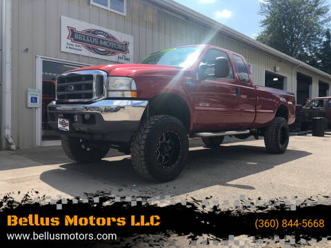 2003 Ford F-250 Super Duty for sale at Bellus Motors LLC in Camas WA