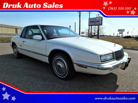 1989 Buick Riviera for sale at Druk Auto Sales in Ramsey MN