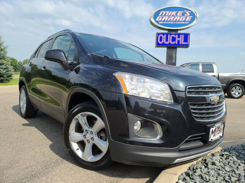 2015 Chevrolet Trax for sale at Monkey Motors in Faribault MN