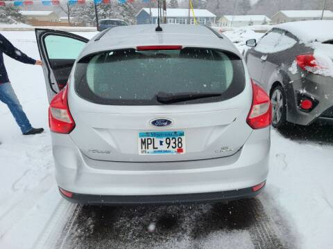 2013 Ford Focus for sale at Rum River Auto Sales in Cambridge MN