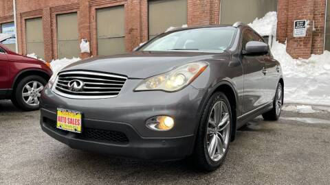 2012 Infiniti EX35 for sale at Rocky's Auto Sales in Worcester MA