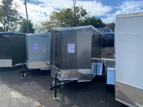 2020 Look Trailers STLC5X8S12DLX for sale at Car VIP Auto Sales in Danbury CT