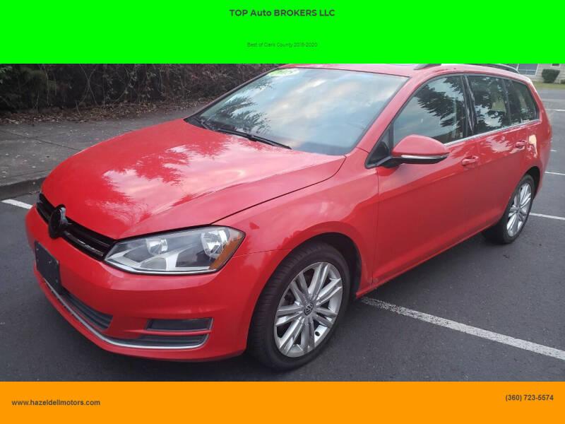 2015 Volkswagen Golf SportWagen for sale at TOP Auto BROKERS LLC in Vancouver WA