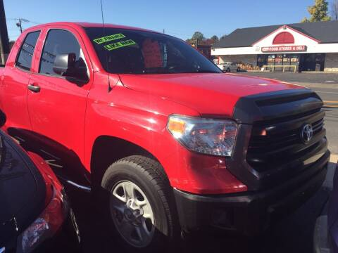 2015 Toyota Tundra for sale at MELILLO MOTORS INC in North Haven CT