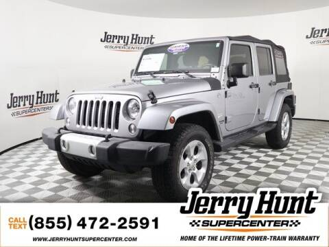 2014 Jeep Wrangler Unlimited for sale at Jerry Hunt Supercenter in Lexington NC