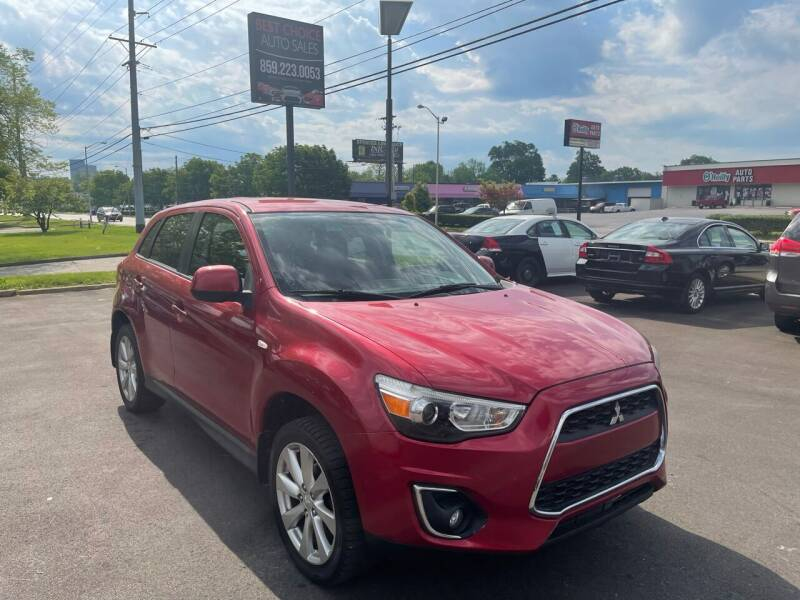 2015 Mitsubishi Outlander Sport for sale at Best Choice Auto Sales in Lexington KY