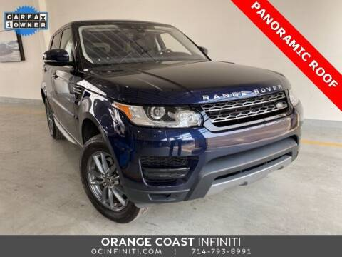 2017 Land Rover Range Rover Sport for sale at ORANGE COAST CARS in Westminster CA