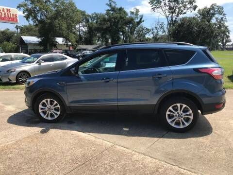2018 Ford Escape for sale at A & B Auto Sales of Chipley in Chipley FL
