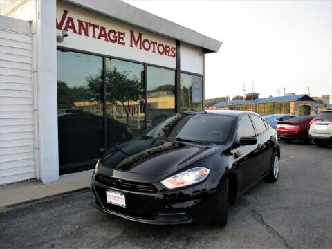 2016 Dodge Dart for sale at Vantage Motors LLC in Raytown MO