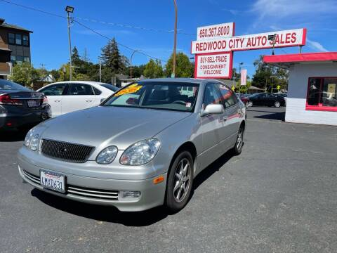 2000 Lexus GS 300 for sale at Redwood City Auto Sales in Redwood City CA