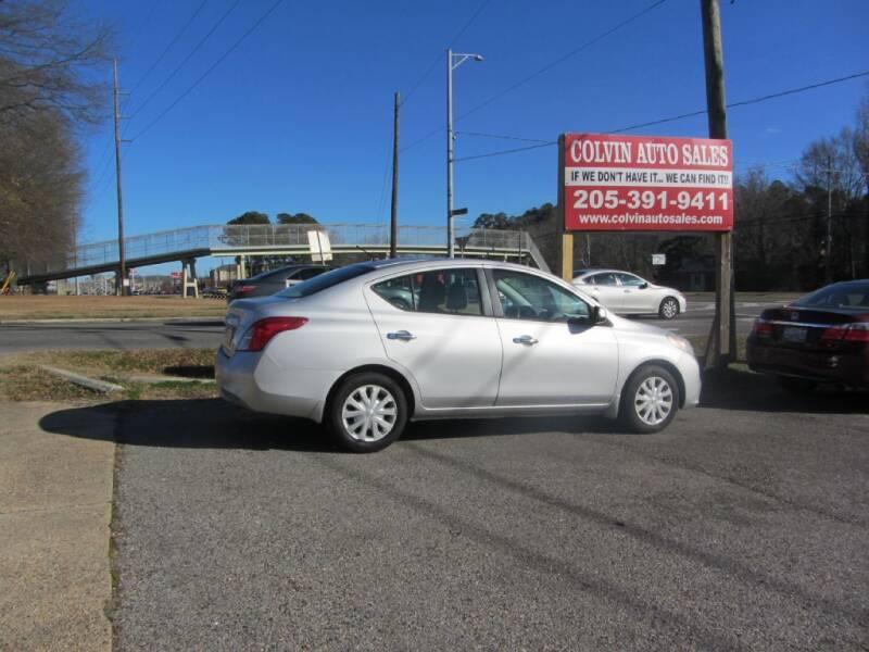 2012 Nissan Versa for sale at Colvin Auto Sales in Tuscaloosa AL