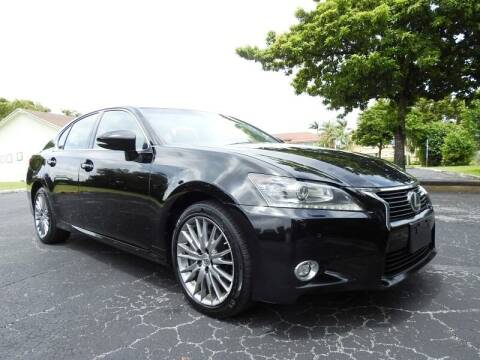 2014 Lexus GS 350 for sale at SUPER DEAL MOTORS 441 in Hollywood FL