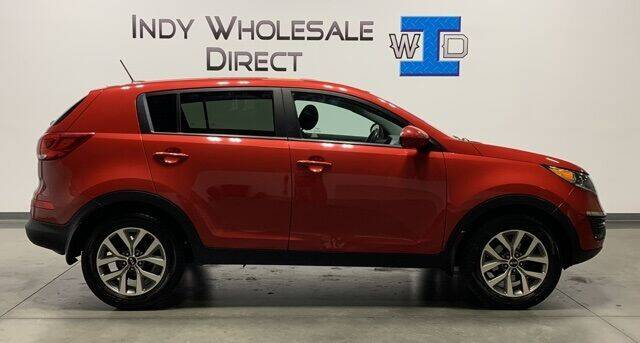 2014 Kia Sportage for sale at Indy Wholesale Direct in Carmel IN