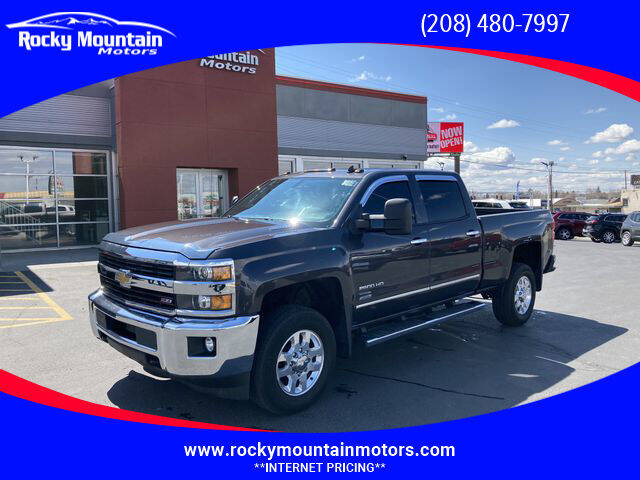 2015 Chevrolet Silverado 2500HD for sale at Rocky Mountain Motors in Idaho Falls ID