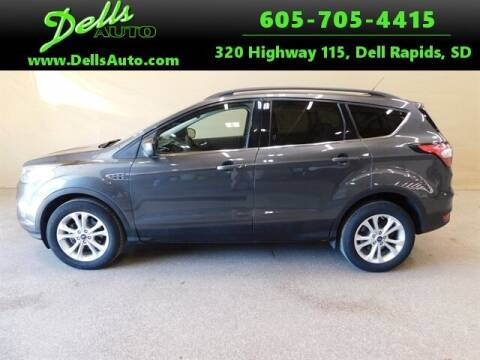 2018 Ford Escape for sale at Dells Auto in Dell Rapids SD