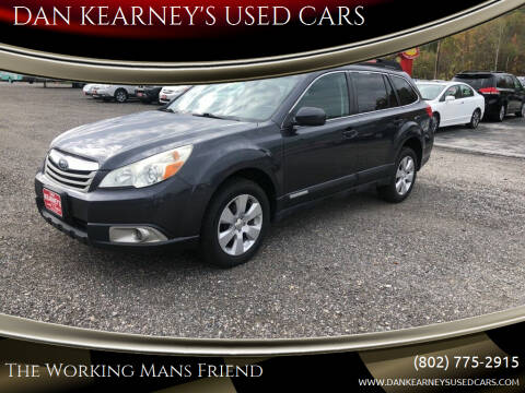 2011 Subaru Outback for sale at DAN KEARNEY'S USED CARS in Center Rutland VT