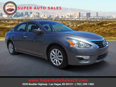 2015 Nissan Altima for sale at Super Auto Sales in Las Vegas NV