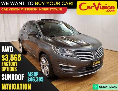 2018 Lincoln MKC for sale at Car Vision Mitsubishi Norristown in Norristown PA