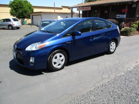 2010 Toyota Prius for sale at Manzanita Car Sales in Gridley CA