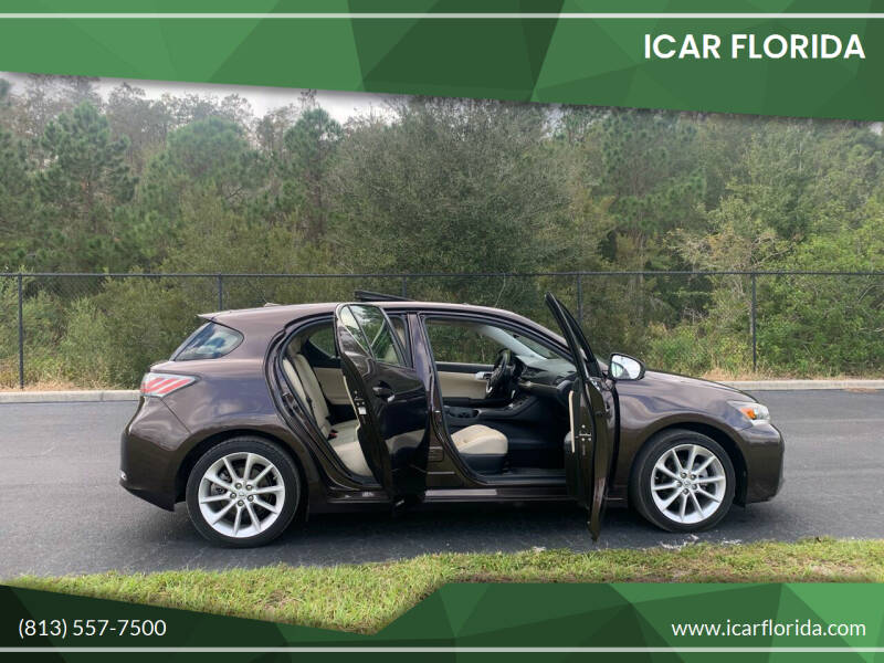 2011 Lexus CT 200h for sale at ICar Florida in Lutz FL