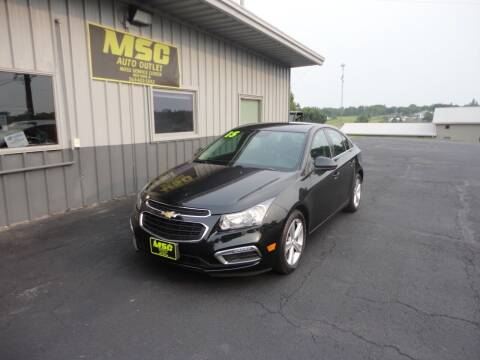 2015 Chevrolet Cruze for sale at Moss Service Center-MSC Auto Outlet in West Union IA