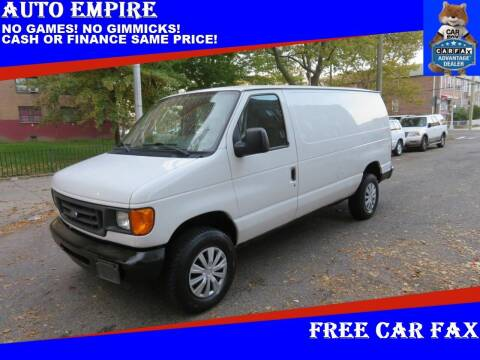 2006 Ford E-Series Cargo for sale at Auto Empire in Brooklyn NY