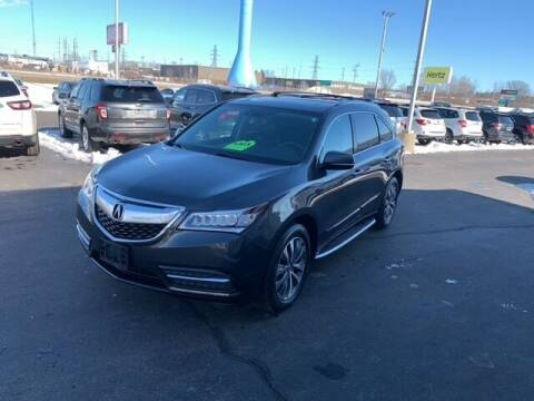 2014 Acura MDX for sale at BORGMAN OF HOLLAND LLC in Holland MI